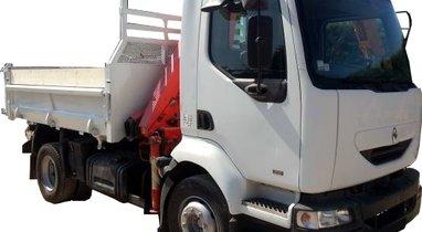 Location Camion benne Renault Marseille 350€